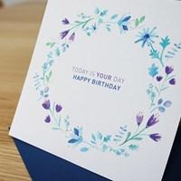 들꽃 생일카드