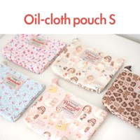 Oil-cloth pouch S