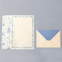 Floral Letter Set_ 물망초