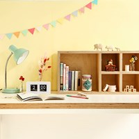Colorful Desk Styling