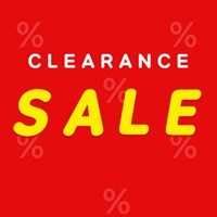 CLEARANCE SALE|98%~