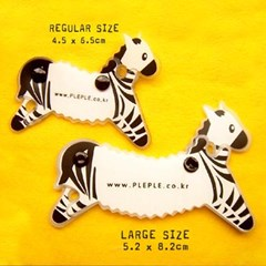 clever zebra-large size