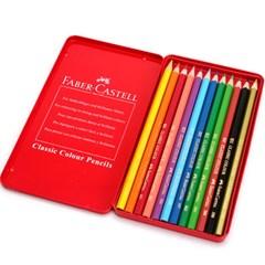 파버카스텔 클래식 색연필 12색(틴케이스)