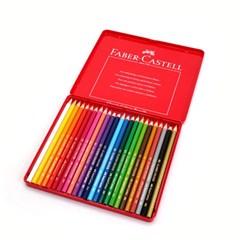 파버카스텔 클래식 색연필 24색(틴케이스)