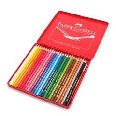 파버카스텔 수채색연필 24색(틴케이스)