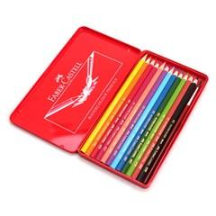 파버카스텔 수채색연필 12색(틴케이스)