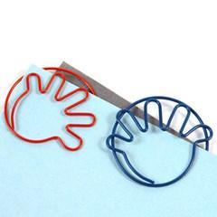 Fun Clip 손바닥 블루 (10p)