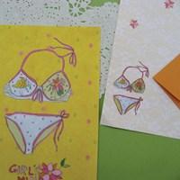 echo letter -bikini