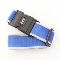 여행가방 보호벨트 - 3다이얼 - 블루