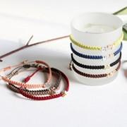 이니셜 커플팔찌(11colors,A~Z,기념일선물 추천)