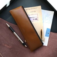 D.LAB Leather pencil case