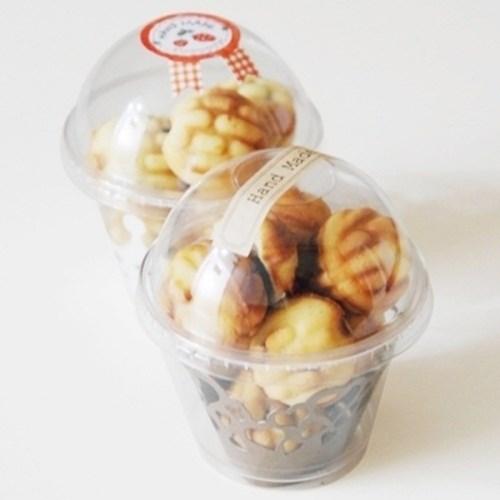 투명컵&뚜껑(머핀,컵케이크1구케이스)(no.6477)