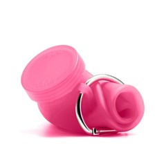 New부비바틀 다용도실리콘물병450ml(핑크)