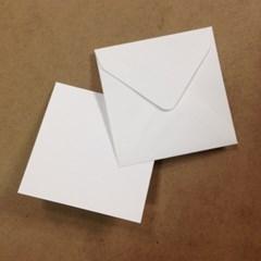 정사각형 카드지/봉투 세트(10매)