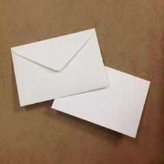 직사각형 카드지/봉투 세트(10매)