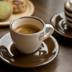더카페 에스프레소 커피잔2인조세트
