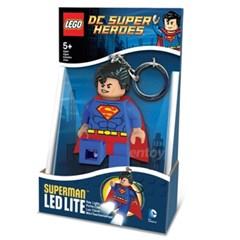 [레고 히어로] 슈퍼맨 키체인 (LED LITE)