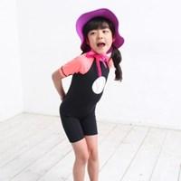 [쏘리얼]자외선차단 아동 래쉬가드 반팔바지원피스 2종택 1