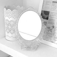 장미 탁상 거울