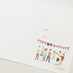 생일 축하 엽서