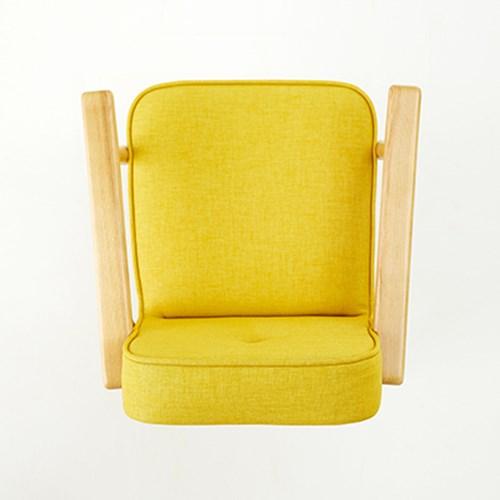 [레트로 디자인체어] 리드만 옐로우 1인용체어