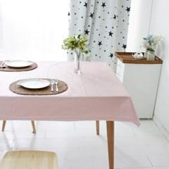 소프트 핑크 방수식탁보