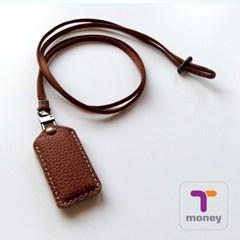 티머니 가죽포켓 / T-money Leather Pocket (티머니칩포함)