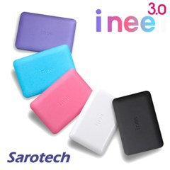 새로텍 휴대용 외장하드 i nee 3.0 / 2TB SATA HDD (USB3.0 & 2.0)