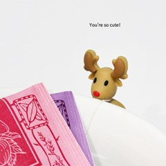 티백줄 꽁꽁~동물 티백걸이