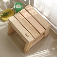 히노끼 욕실의자(고급형)