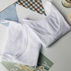 부드럽고 편안한 면(綿) 베이직 끈나시 런닝