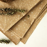 Pattern paper bag