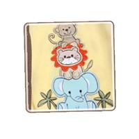 긴팔 베이지동물원 바디수트 (D85)