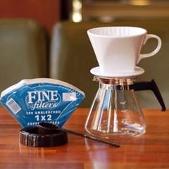 Rlovecoffee커피두콩 핸드드립(도자기드리퍼+필터100장+포트)