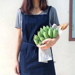 베이직 데님 에이프런 : basic denim apron [2colors]
