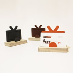 TV모양 명함꽂이-TV Business Card Holder