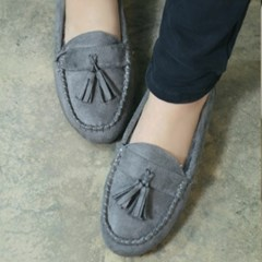 Rich fur classical tassle loafers_KM14w246