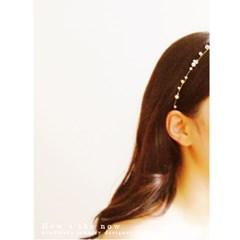 [하우즈쉬나우] pure white snow pearl (링 타입)
