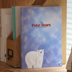 더블에이 학생노트 북극동물 B5 24매