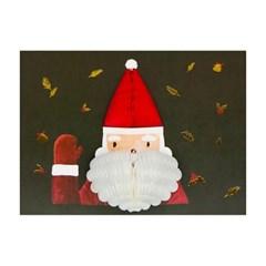 S1-유리컴 카드 허니콤 크리스마스 카드 4종 밸류 팩