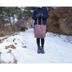 헤링본 숄더백 [핑크]