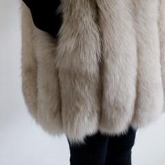 Lux 사가폭스 퍼 베스트 (SAGA fox fur vest)