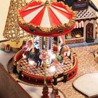 [adico] DIY미니어처 하우스 - 회전목마(크리스마스트리형)