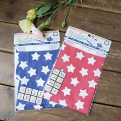 Red & Blue Star 종이봉투 Set - 2type