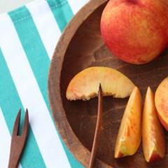 마론부아 나무 과일 포크 2P세트