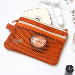double mesh pouch 더블 메쉬 파우치 S