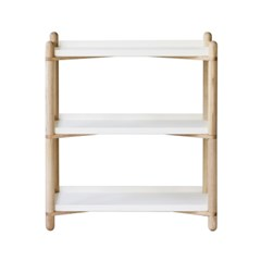 Cross Shelf 3단_White