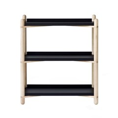 Cross Shelf 3단_ Black