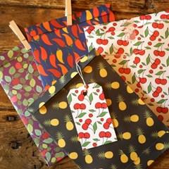 DECORATION PAPER SET - Fruit Series