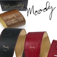 [Moody] Distressed Leather 4.0 Std - (Red/Cream) - 빈티지 레릭